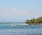 Boat in Pavones Bay