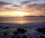 Sunset in Pavones