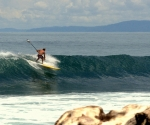 Surfing in Pavones