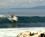 Surfing in Pavones