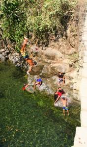 Bridge Jumping in Pavones