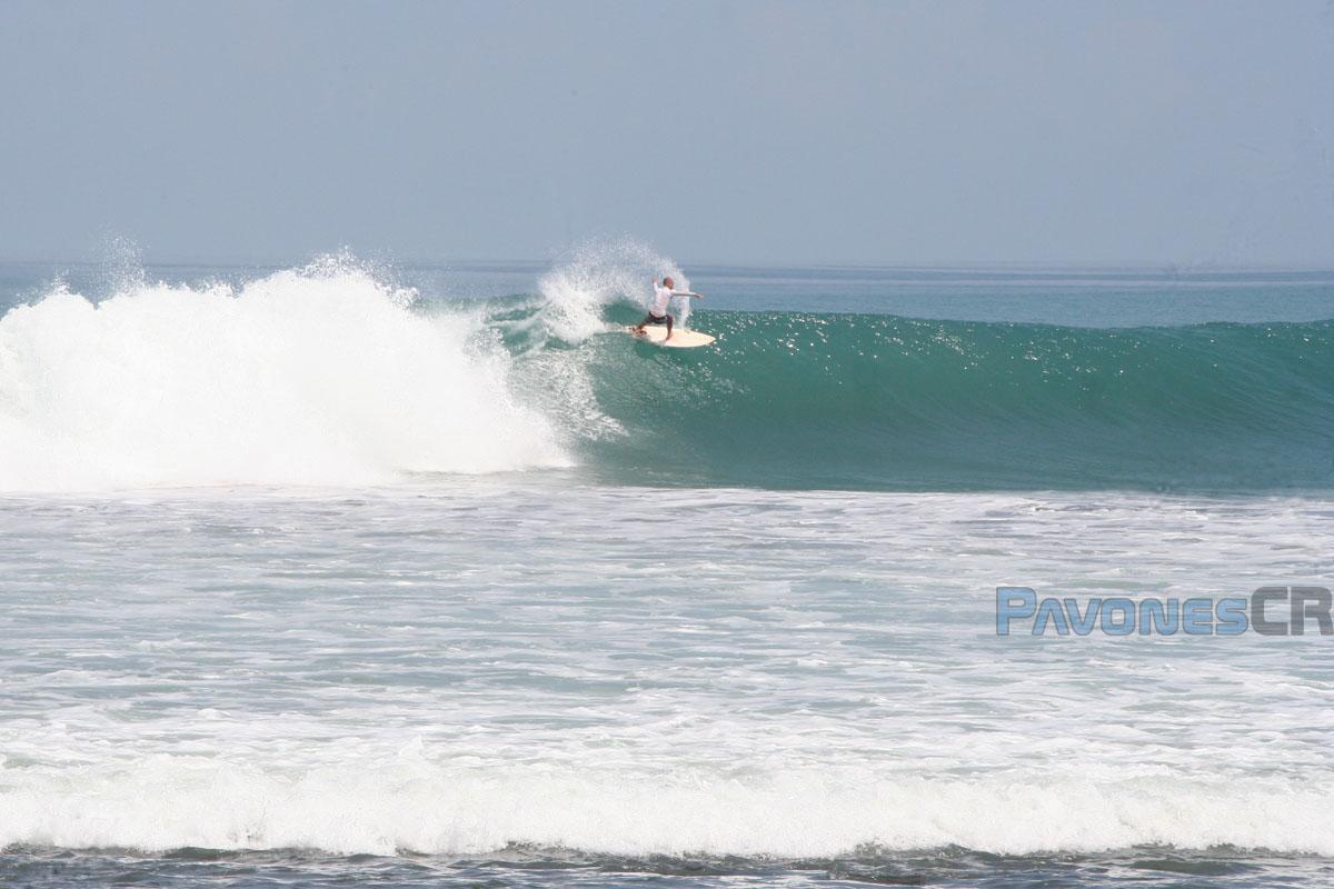 Surfing Pavones
